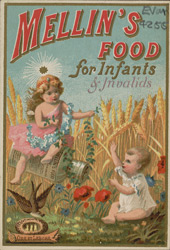 Advert for Mellin's Food for Infants & Invalids